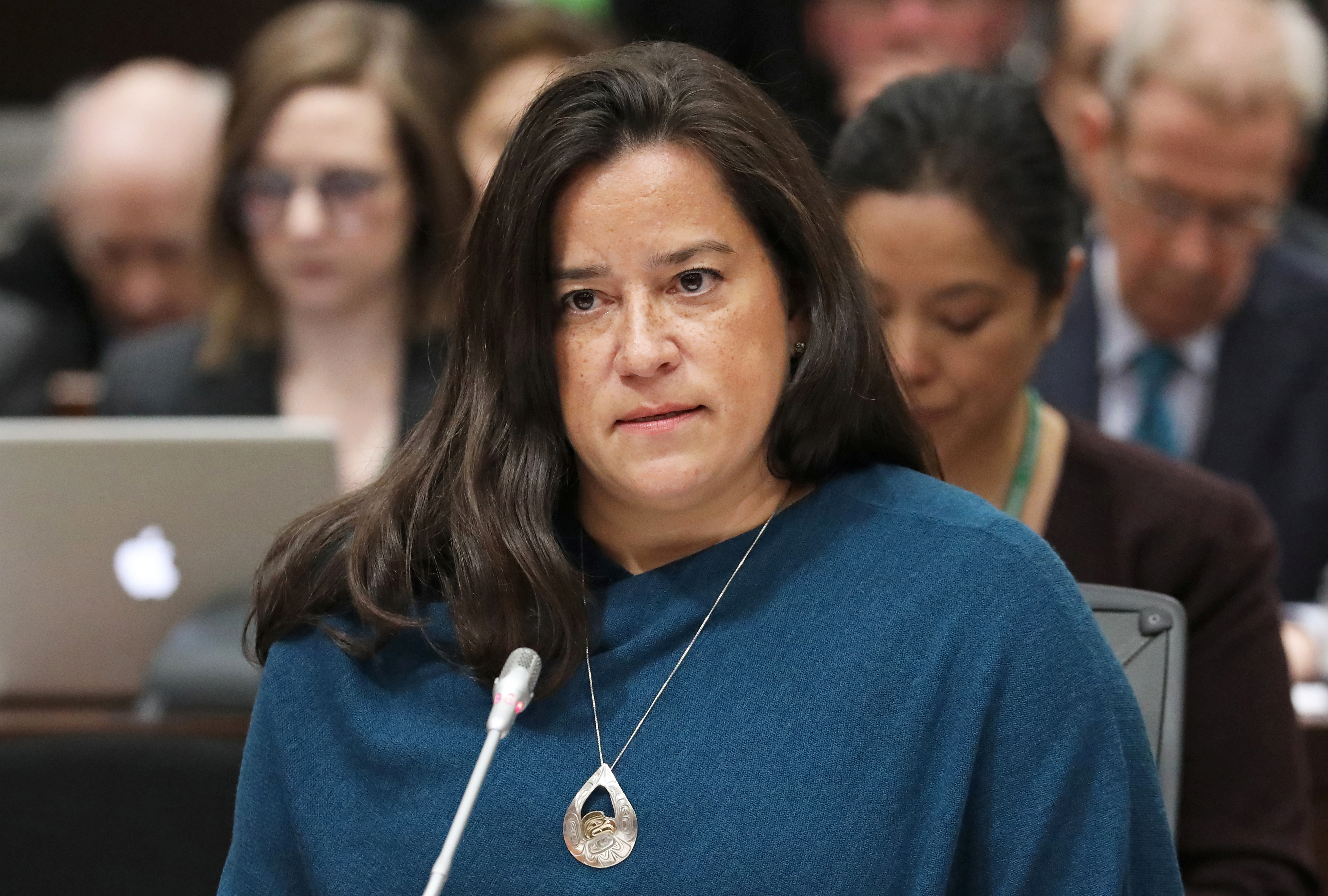 Liberal MP and former Canadian justice minister Jody Wilson-Raybould testifies before the House of Commons justice committee on Parliament Hill in Ottawa, Ontario, Canada, February 27, 2019. REUTERS/Chris Wattie