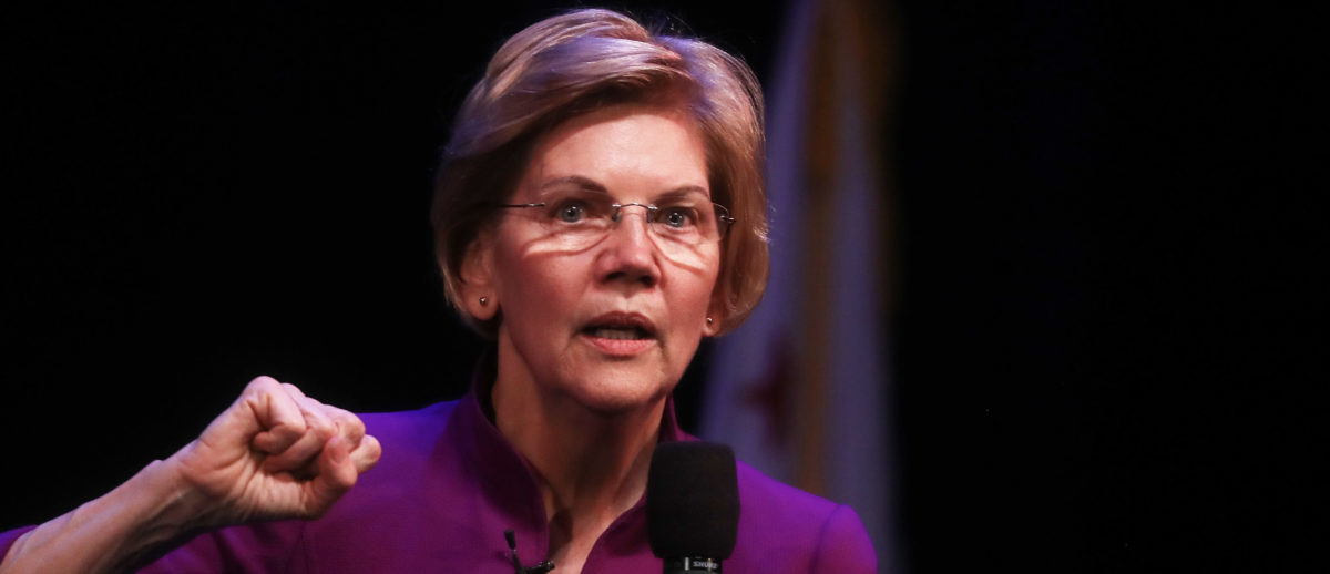 Elizabeth Warren: It's 'Terrible For Israel' That The Nation-State Has Aligned With Trump