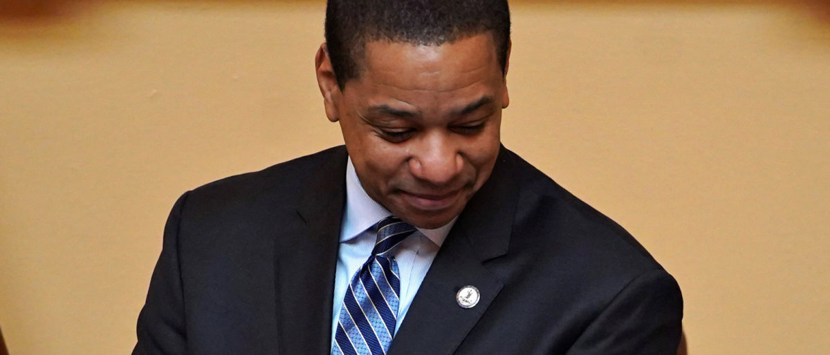 Virginia Lt. Gov. Justin Fairfax. REUTERS/Jay Paul