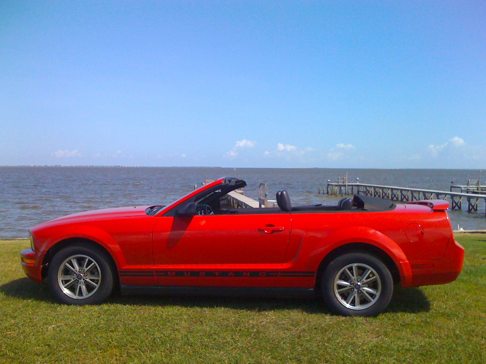 Rent a Ford Mustang convertible or similar model for $350 a day (Photo via Google)