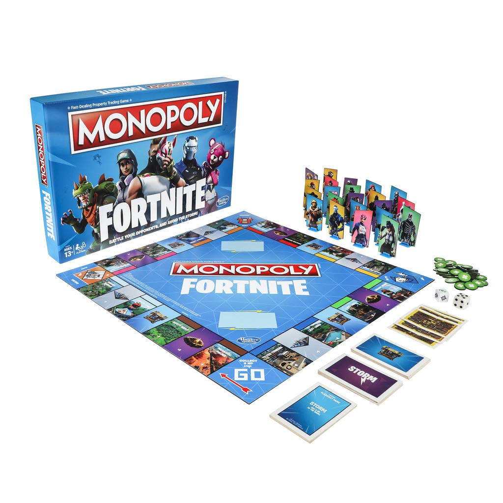 Normally $20, Fortnite Inspired Monopoly is now on sale for only $10 (Photo via Amazon)