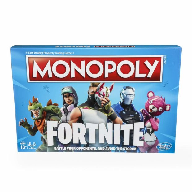 Pass Go and collect $10 (in savings) with 50 percent off Fortnite Monopoly (Photo via Amazon)
