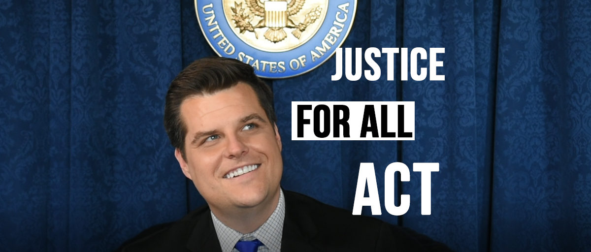 Rep. Gaetz Introduces Bill That Would Hold Clinton, Comey And Others Accountable For Lying