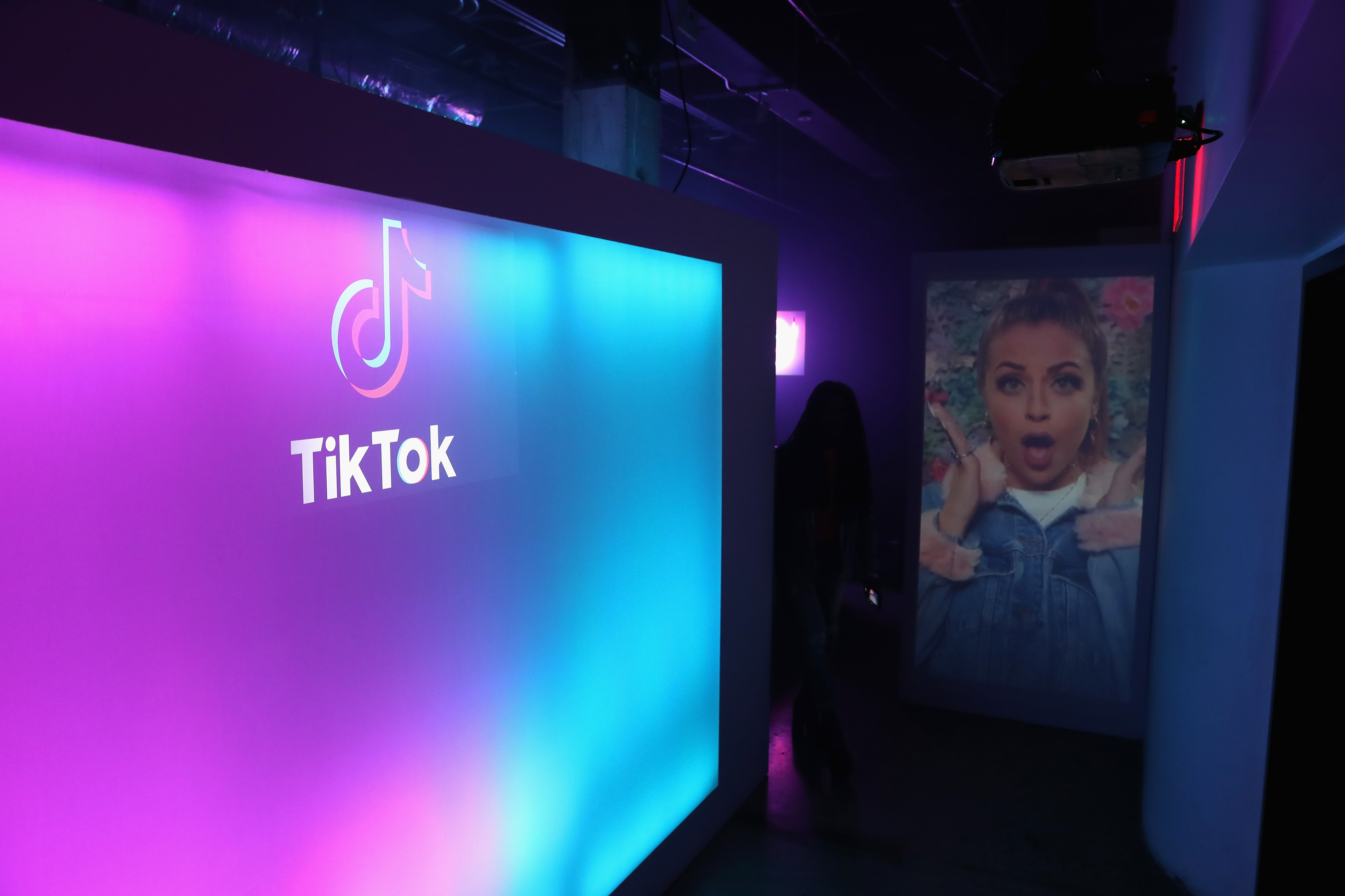 LOS ANGELES, CA - AUGUST 01: A general view of the atmosphere during the TikTok US launch celebration at NeueHouse Hollywood on August 1, 2018 in Los Angeles, California. (Joe Scarnici/Getty Images)