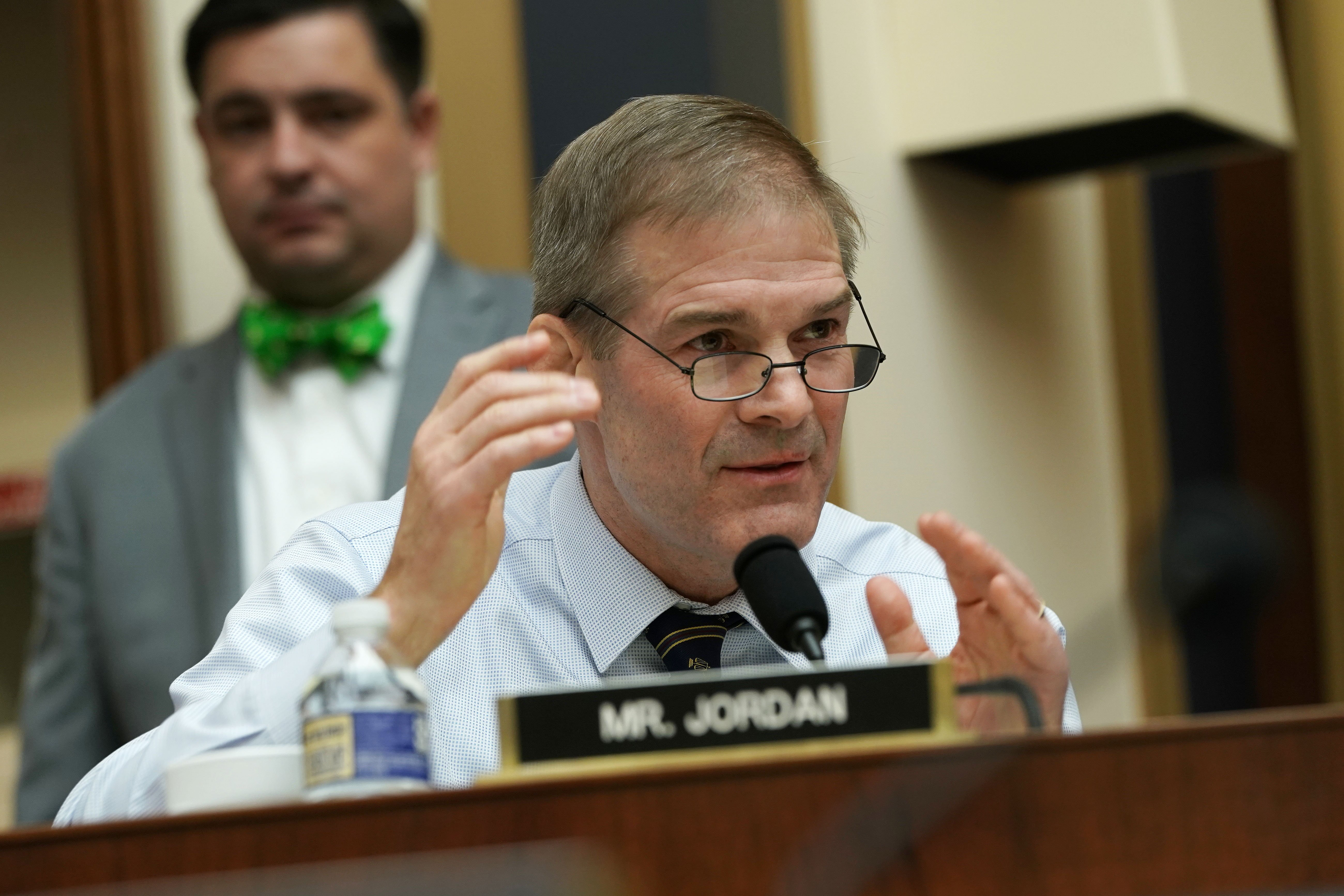 U.S. Rep. Jim Jordan speaks during a hearing where Google CEO Sundar Pichai testifies before the House Judiciary Committee at the Rayburn House Office Building on December 11, 2018 in Washington, DC. (Photo by Alex Wong/Getty Images)