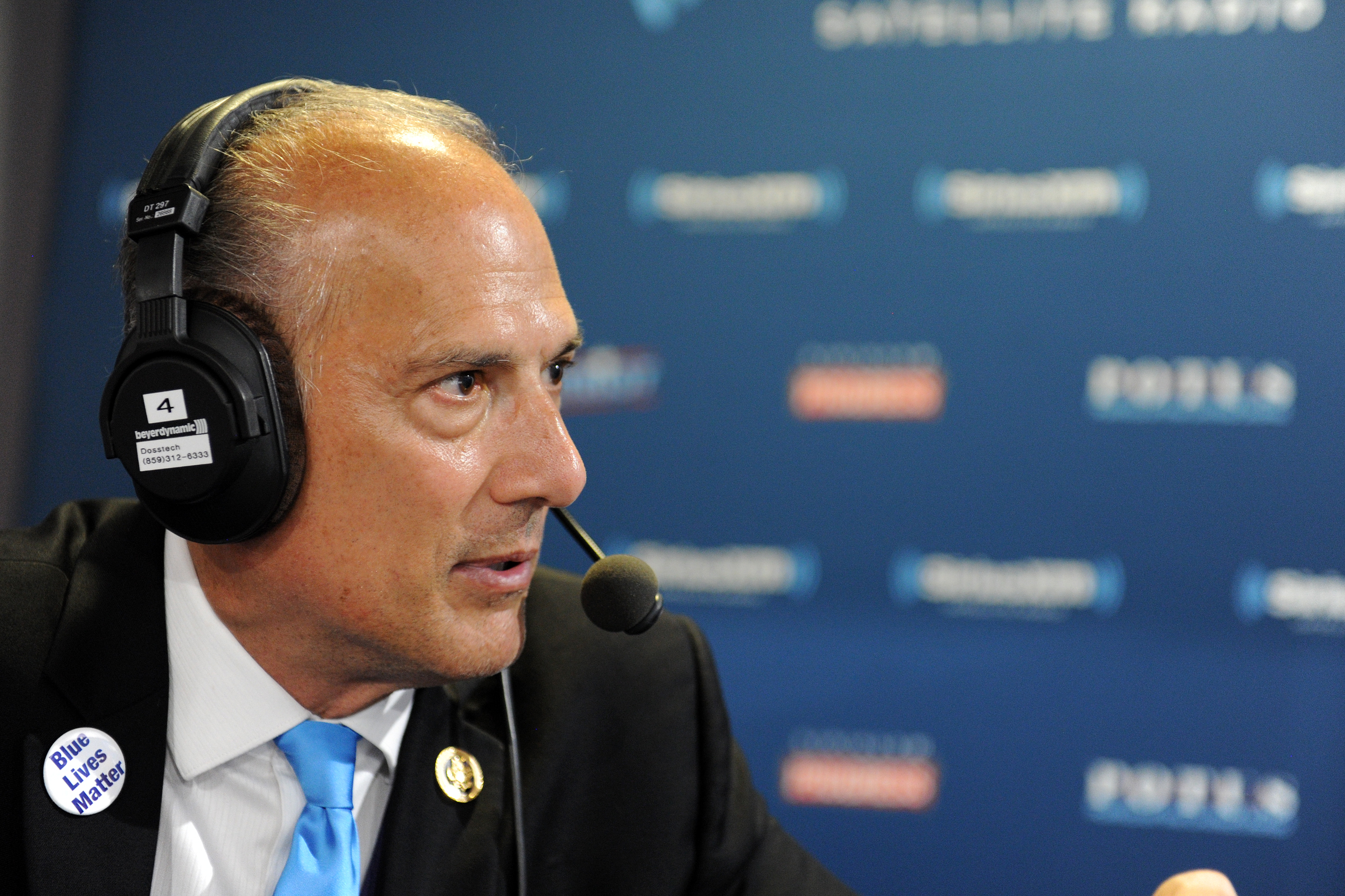 Tom Marino, Congressman of Pennsylvania, talks with Andrew Wilkow during an episode of The Wilkow Majority on SiriusXM Patriot at Quicken Loans Arena on July 21, 2016 in Cleveland, Ohio. (Photo by Ben Jackson/Getty Images for SiriusXM)