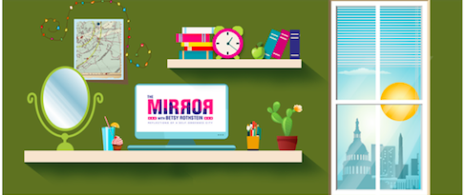 Morning Mirror: She Was Practicing Her French, Downing Espresso And Taking Beauty For Granted