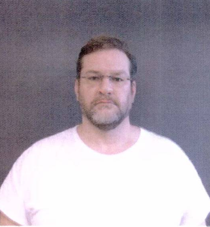 Pictured is James Thompson. Screenshot/ Greenwood County Sheriffs Department