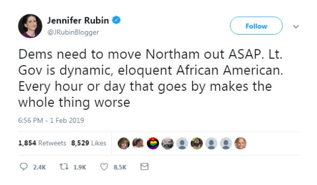 Jennifer Rubin tweet