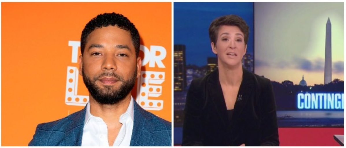 MSNBC's Primetime Lineup Ignores Smollett Getting Charged In Hate Crime Hoax