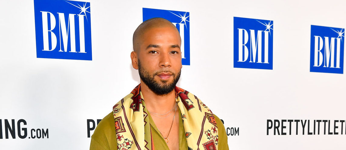 Actor Jussie Smollett attends the 2018 BMI R&B/Hip-Hop Awards at Woodruff Arts Center on August 30, 2018 in Atlanta, Georgia. (Photo by Paras Griffin/Getty Images for BMI)