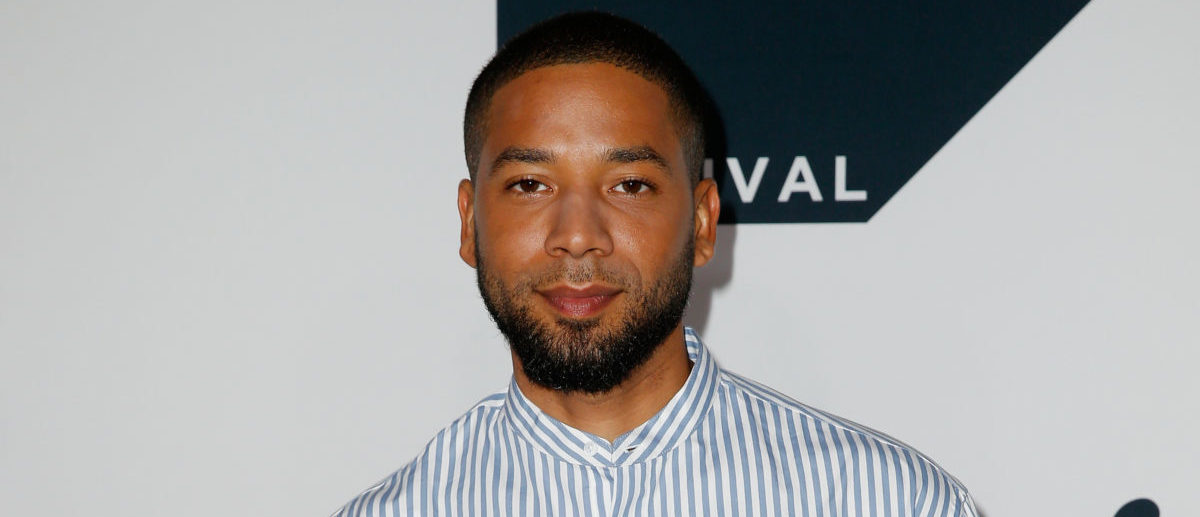 "Jussie Smollett attends the ""Empire"" Season 5 world premiere during the 2018 Tribeca TV Festival at Spring Studios on September 22, 2018 in New York City. (Photo by Dominik Bindl/Getty Images for Tribeca TV)"