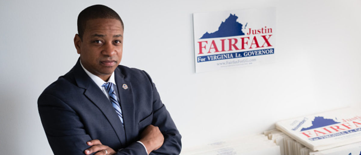 ARLINGTON, VA - SEPTEMBER 13: Justin Fairfax, the Democratic candidate for Virginia lieutenant governor is pictured during an interview at his campaign headquarters in Arlington, VA on Wednesday September 13, 2017. (Photo by Sarah L. Voisin/The Washington Post via Getty Images)