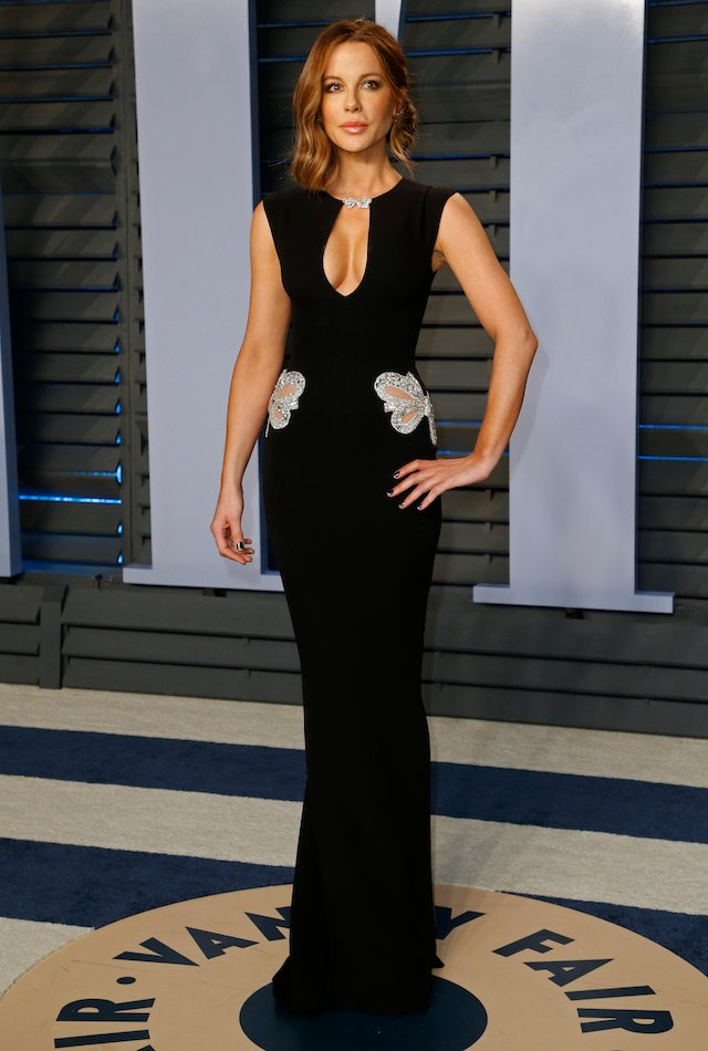 2018 Vanity Fair Oscar Party Arrivals Beverly Hills, California, U.S., 04/03/2018 ñ Actress Kate Beckinsale. REUTERS/Danny Moloshok
