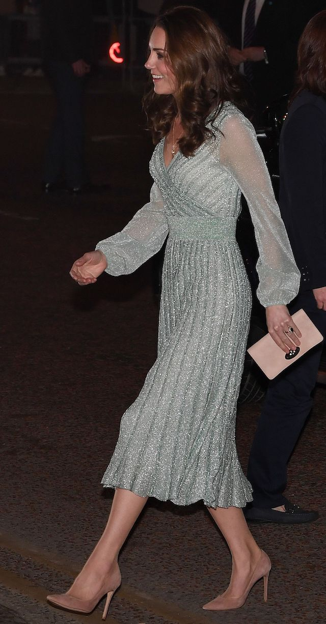 Britain's Catherine, Duchess of Cambridge arrives to visit the Empire Music Hall in Belfast, Northern Ireland on February 27, 2019. (Photo credit: PAUL ELLIS/AFP/Getty Images)