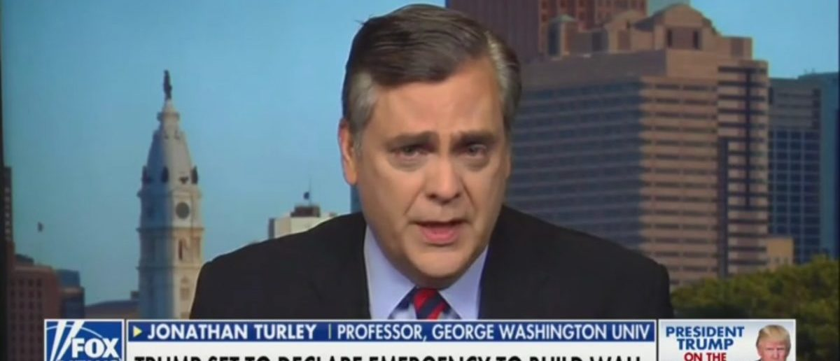 Law Professor Jonathan Turley Explains Difference Between Obamacare Case And Trump's National Emergency