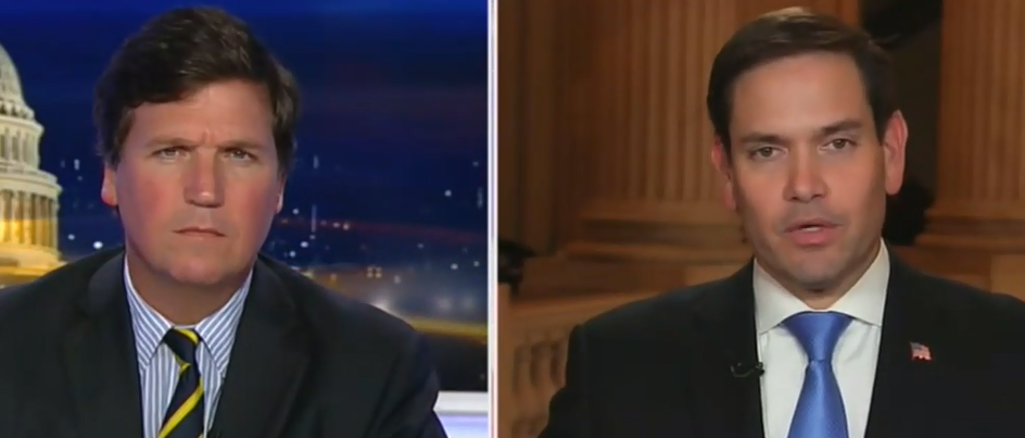 'Self-Inflected Damage': Rubio Rips Green New Deal