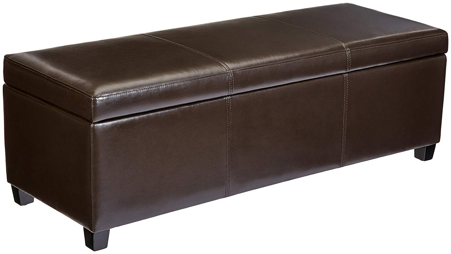 Normally $125, get this large ottoman 25 percent off (Photo via Amazon)