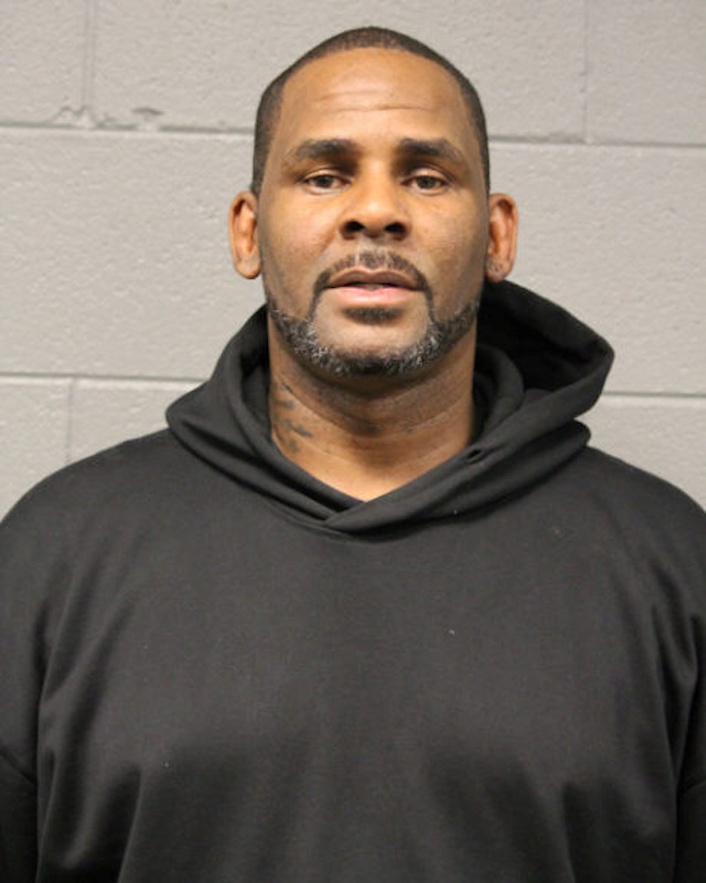 Singer Robert Kelly, known as R. Kelly, appears in a booking photo provided by the Chicago Police Department in Chicago, Illinois, U.S., on February 23, 2019. Courtesy Chicago Police Department/Handout via REUTERS