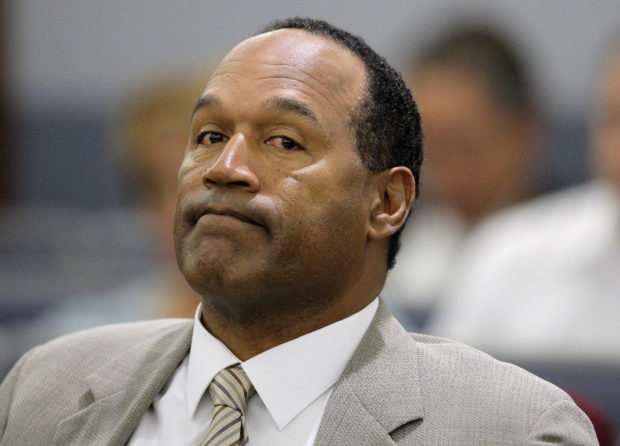 ant O.J. Simpson appears in court for the opening day of his trial in Las Vegas