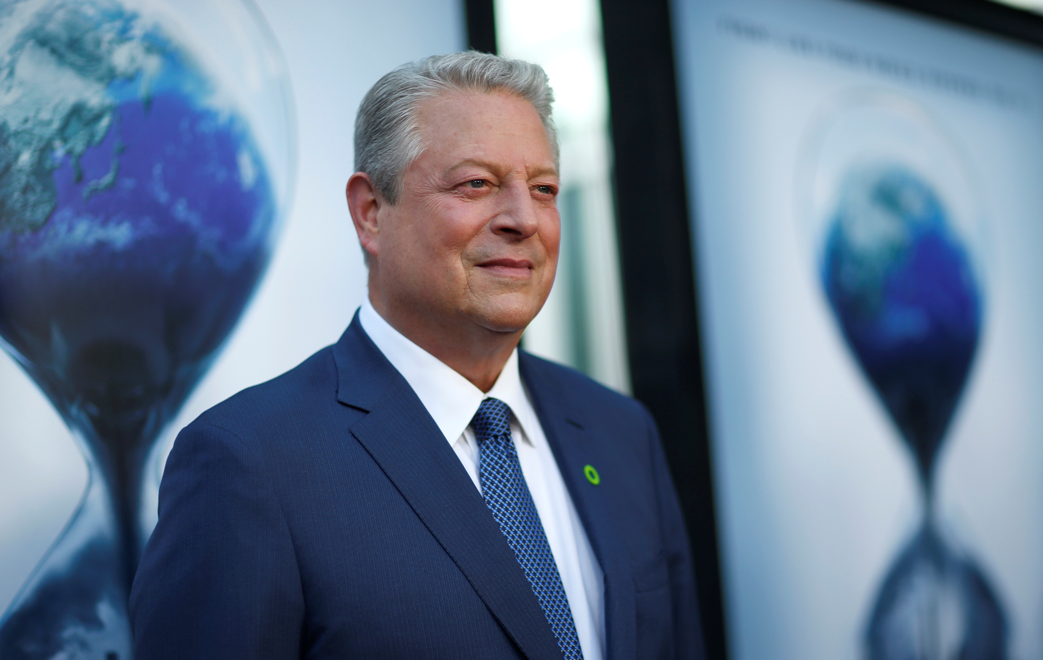 "Former U.S. Vice President Gore attends a screening for ""An Inconvenient Sequel: Truth to Power"" in Los Angeles"