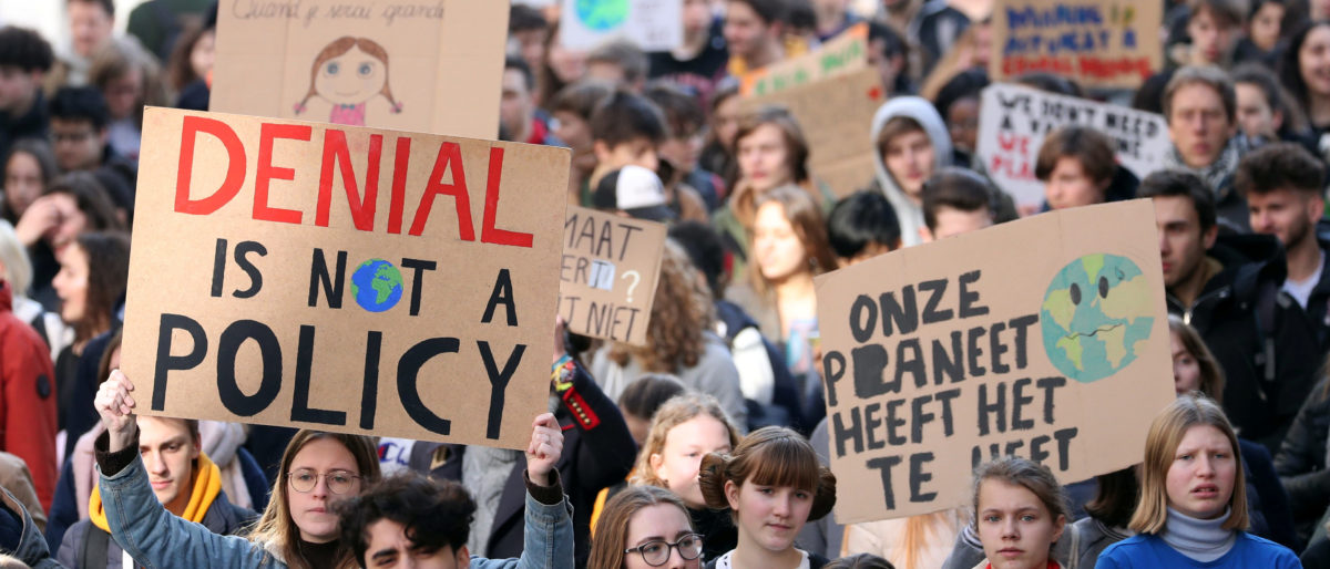 Thousands Of Students Ditch Class To Join Climate Change Protests