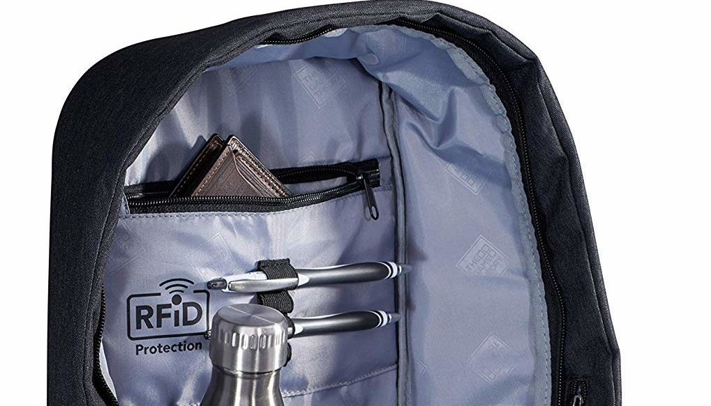 Normally $70, this stylish and high-tech backpack is now on sale for 30 percent off (Photo via Amazon)