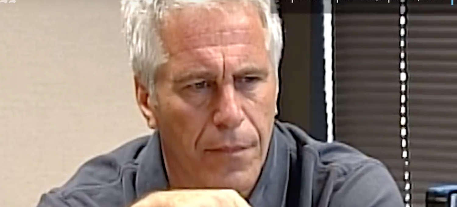 Jeffrey Epstein gives a deposition in 2009. Screenshot/ YouTube/Miami Herald