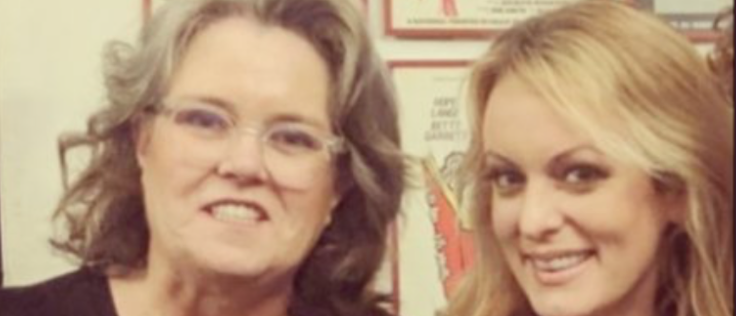 Rosie O'DOnnell and Stormy Daniels team up for a night out on the town in D.C.