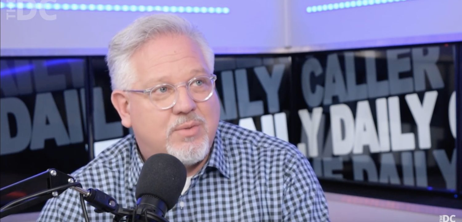 Glenn Beck (Screen capture from Daily Caller YouTube channel)