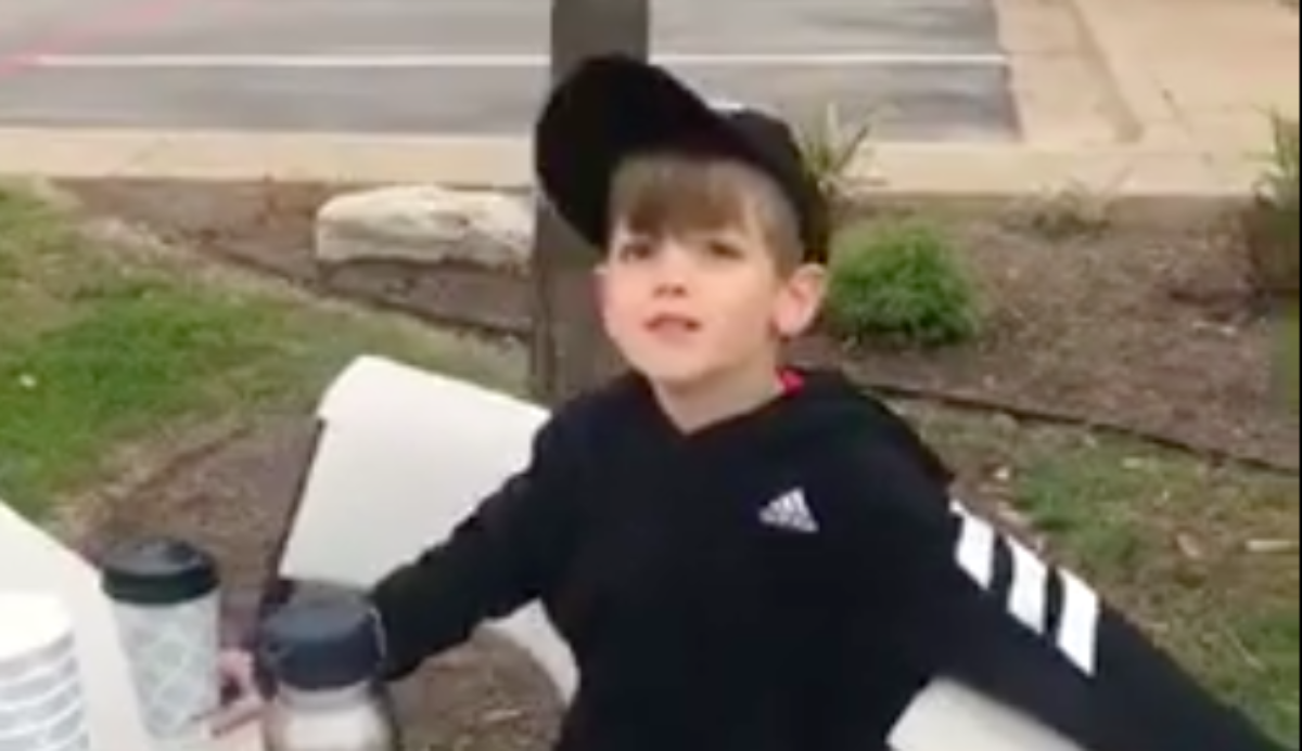 Texas Boy Says Adults Called Him 'Little Hitler' When He Started Raising Money For The Wall