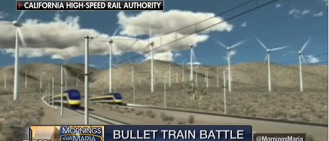 California High-Speed Rail Simulation (Credit: YouTube/ Fox Business)