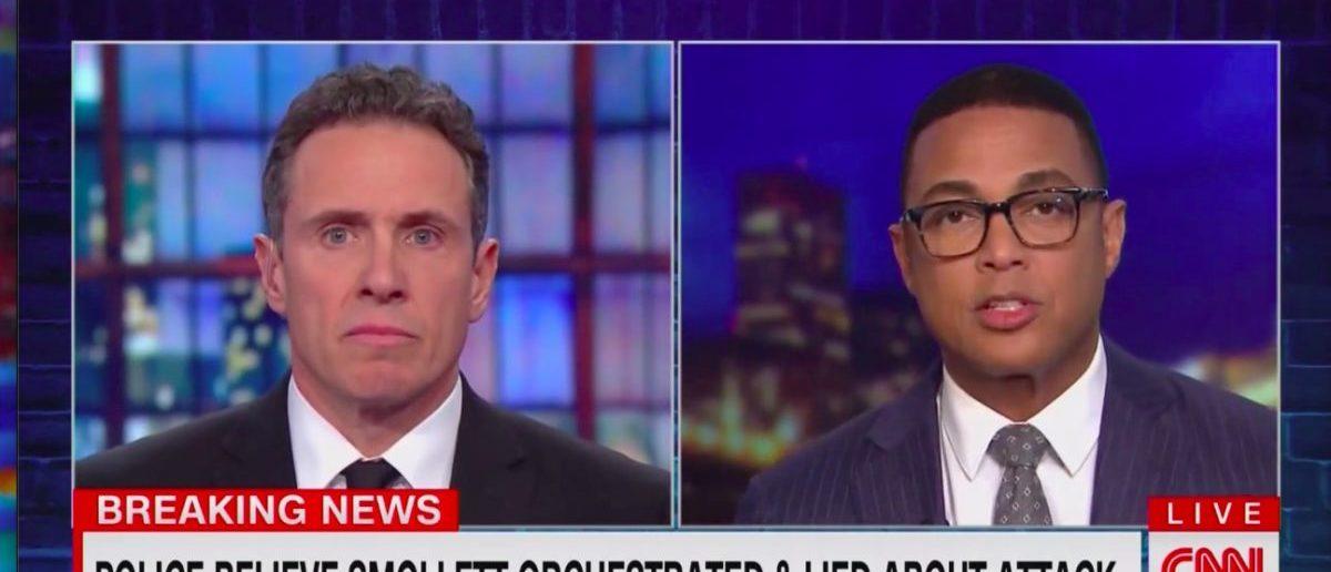 Chris Cuomo and Don Lemon (CNN Screenshot: February 20, 2019)