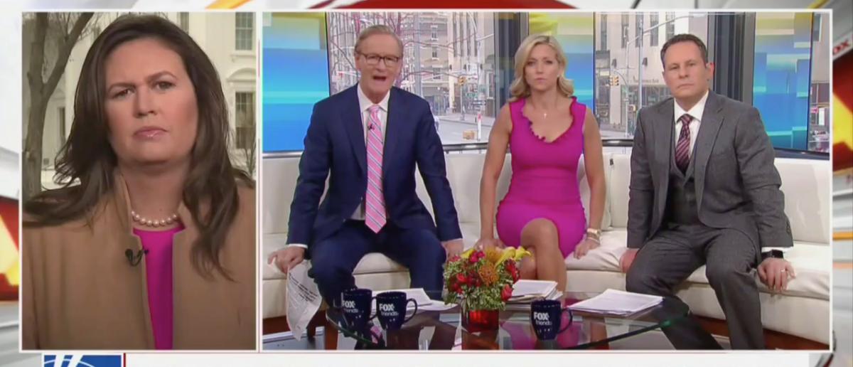 Sarah Sanders (Fox News Screenshot: February 22, 2019)