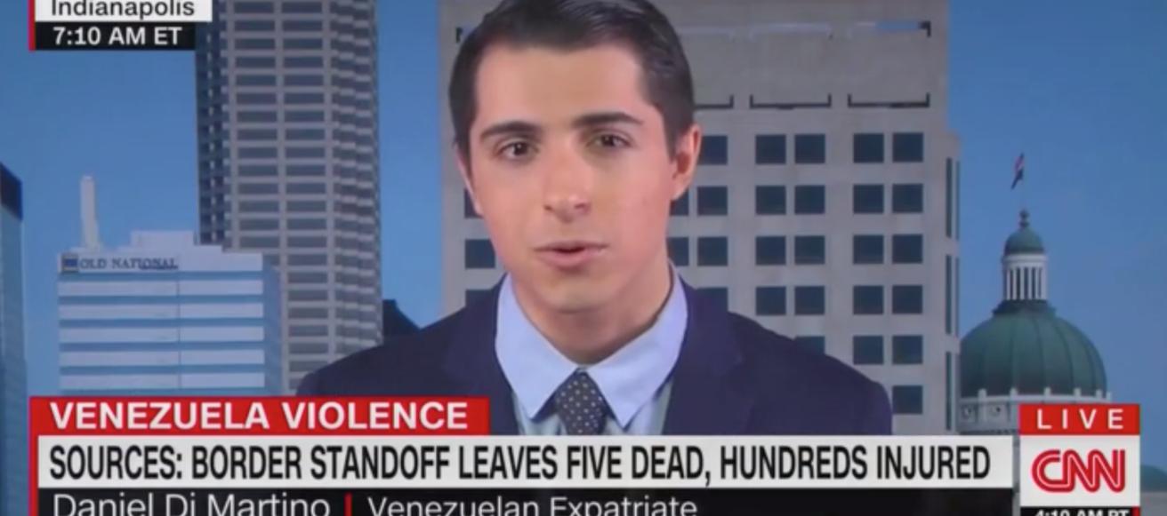 Daniel Di Martino appears on CNN, 2/24/2019 Screen Shot/CNN