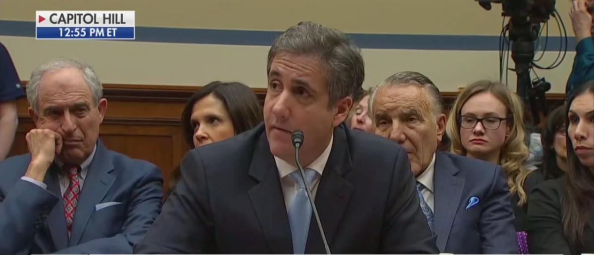 Michael Cohen (CNN Screenshot: February 27, 2019)