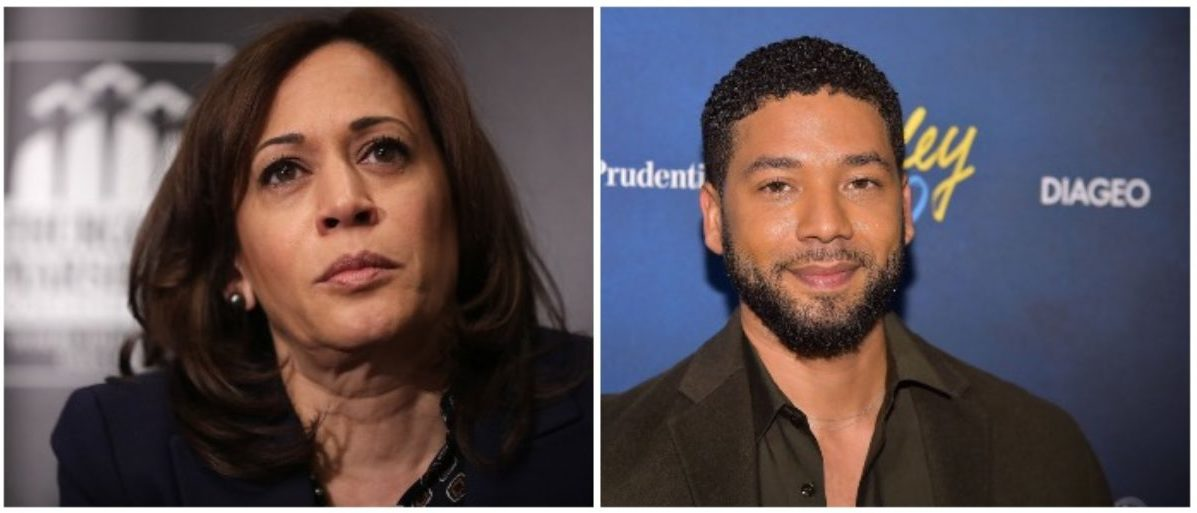 Kamala Harris Breaks Silence On Smollett's Arrest
