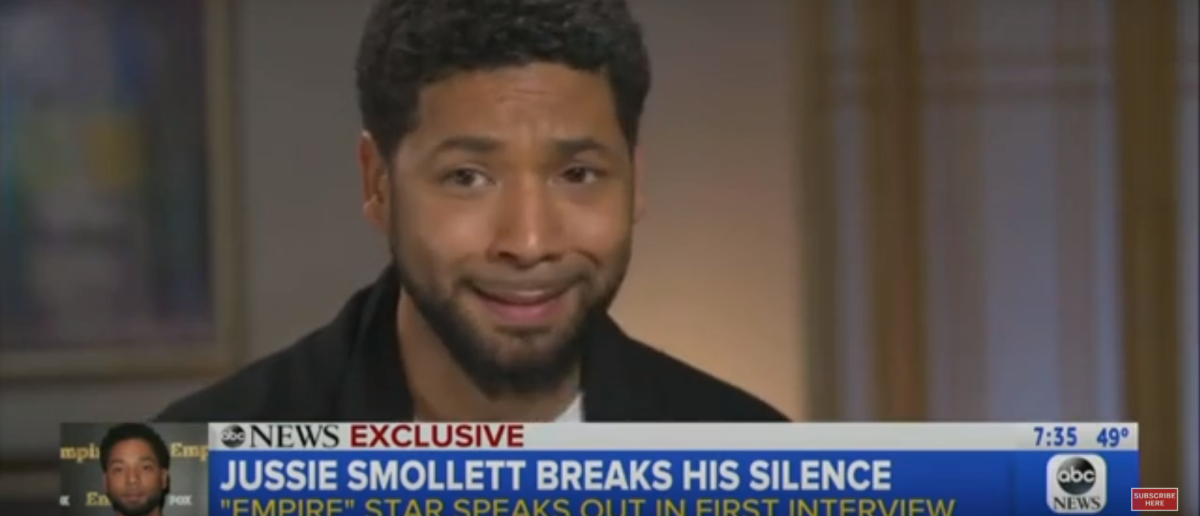 Footage shows the two brothers buying items a day before the alleged attack against Jussie Smollett. Screenshot/ Good Morning America/ YouTube/ TheDC Shorts