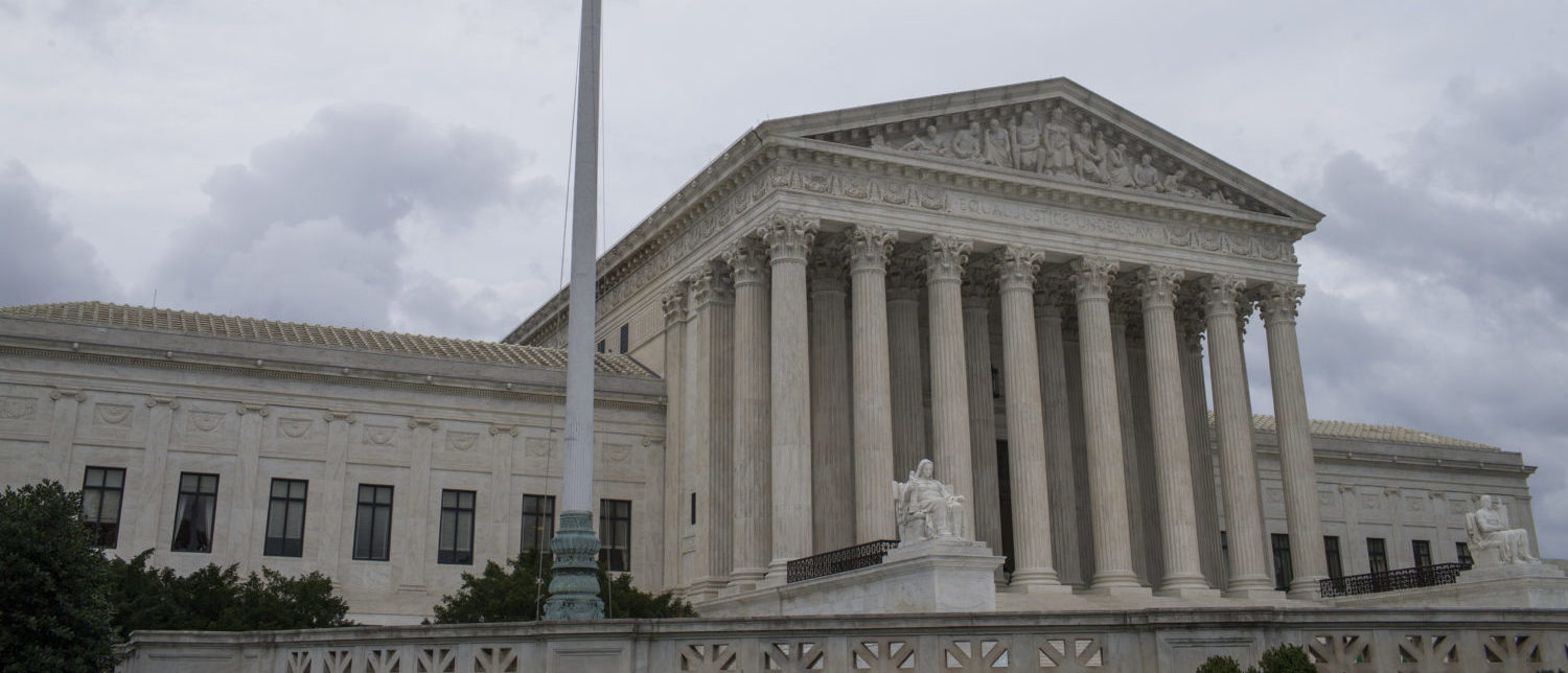 The U.S. Supreme Court as seen on June 27, 2018. (Zach Gibson/Getty Images)