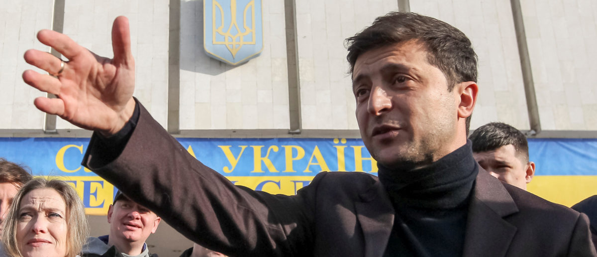 Volodymyr Zelenskiy, presidential candidate for Ukraine's election , leads in polls. Jan. 25, 2019. REUTERS/Viacheslav Ratynskyi/File Photo