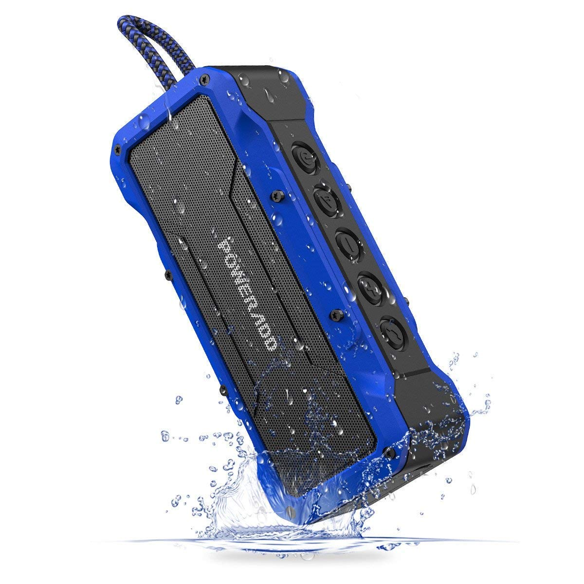 Normally $60, take 25 percent off this waterproof speaker (Photo via Amazon)