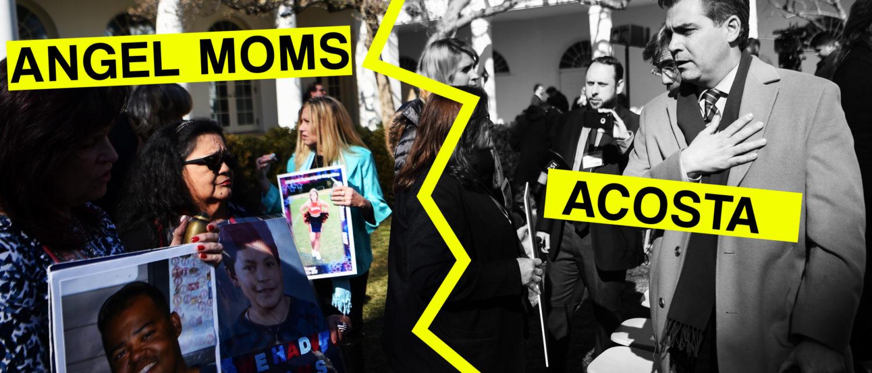 Jim Acosta Trump Angel Moms