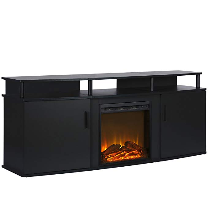 Normally $340, this electric fireplace is 19 percent off (Photo via Amazon)