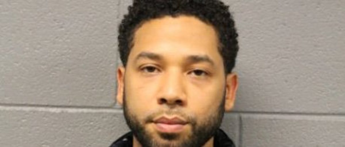 Jussie Smollett Mug Shot - Photo via Chicago Police Department