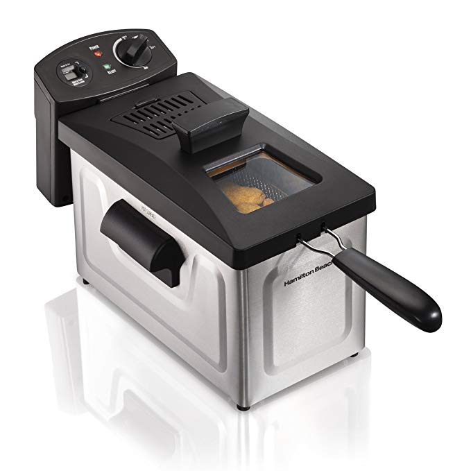 Normally $60, this deep fryer is 25 percent off (Photo via Amazon)