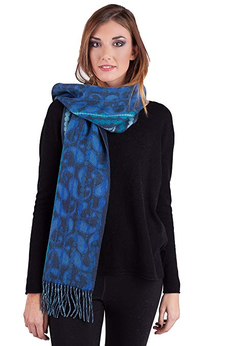 Normally $98, this cashmere scarf is 42 percent off (Photo via Amazon)
