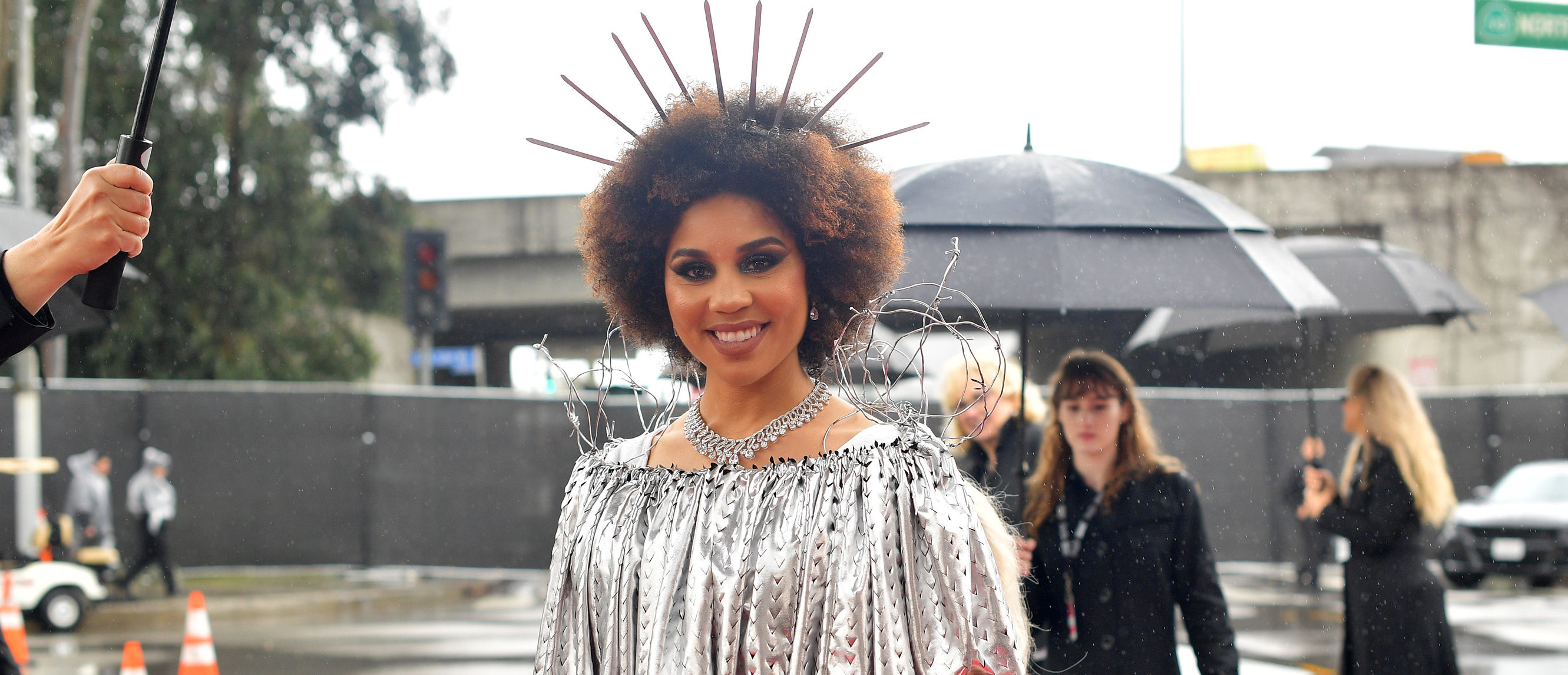 Joy Villa attends the 61st Annual GRAMMY Awards at Staples Center on February 10, 2019 in Los Angeles, California. (Photo by Matt Winkelmeyer/Getty Images for The Recording Academy)