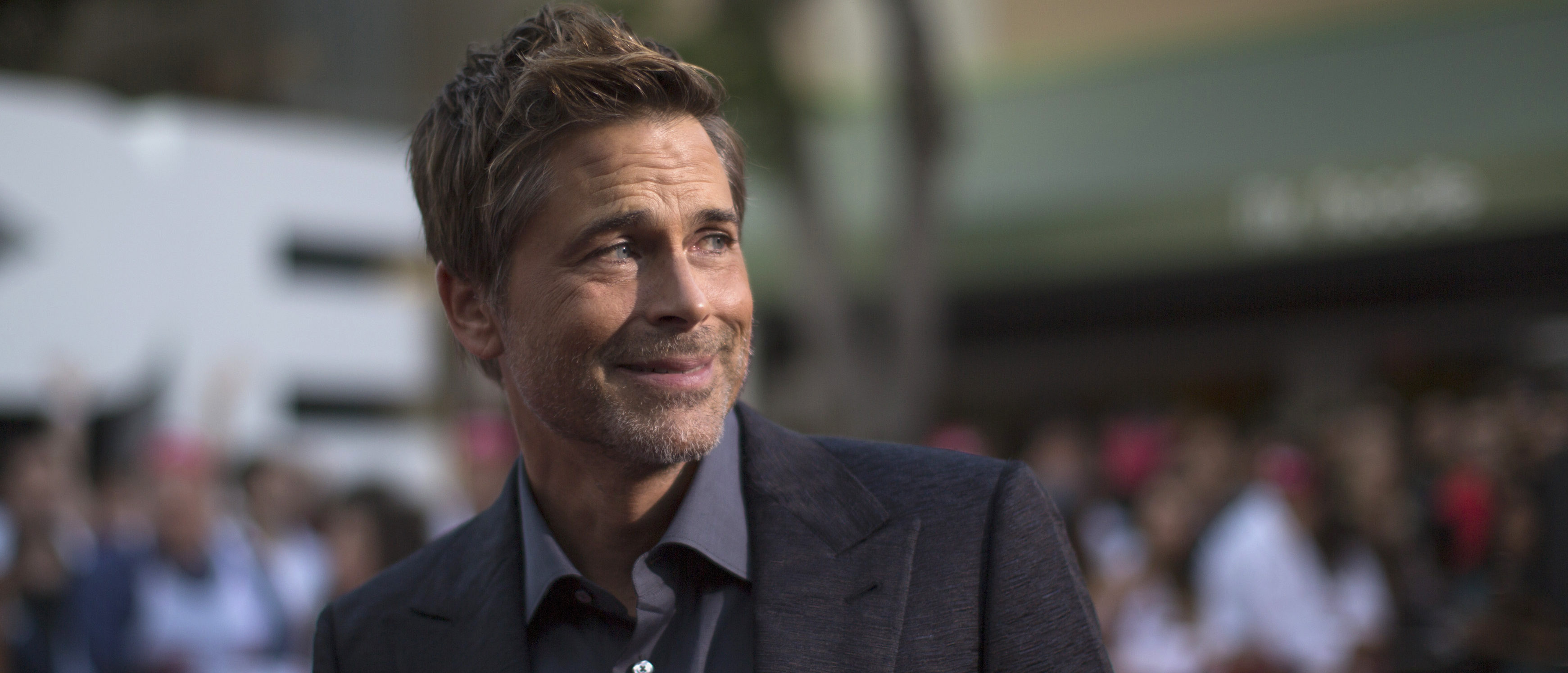 """Cast member Rob Lowe attends the premiere of """"Sex Tape"""" in Los Angeles, California July 10, 2014. REUTERS/Mario Anzuoni"""