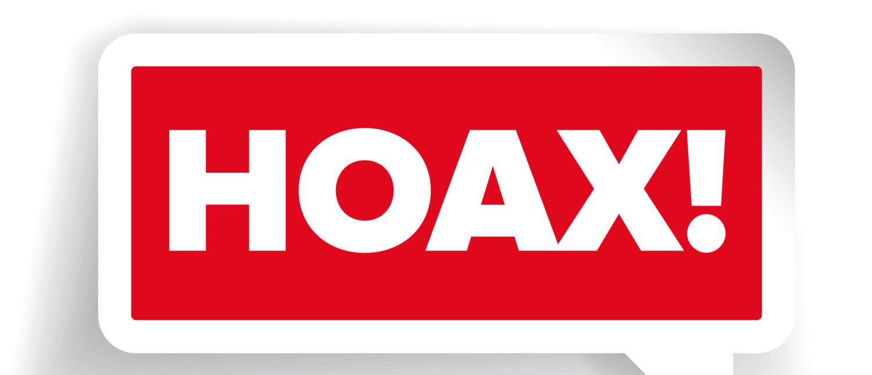 "A ""Hoax"" label. [Shutterstock - LinGraphics]"