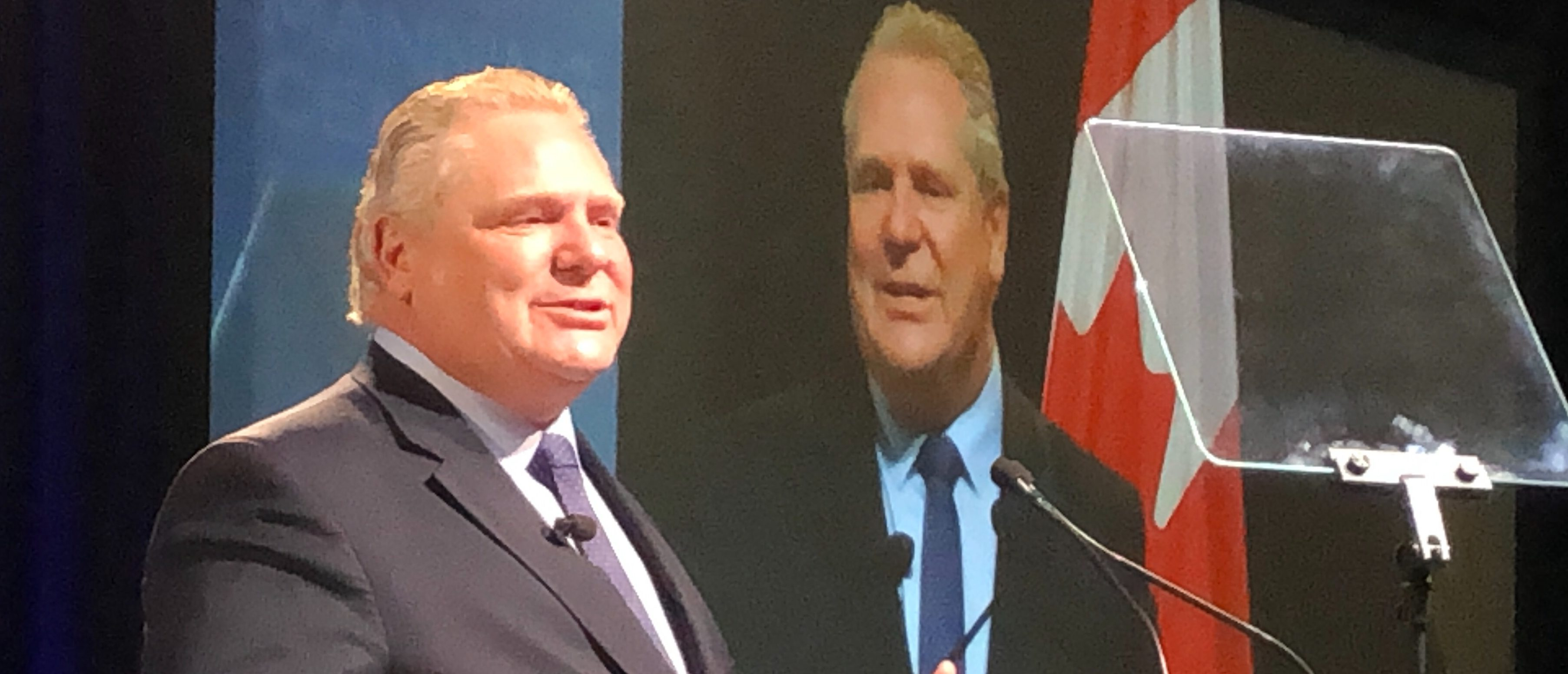 Ontario Premier Doug Ford addresses the 2019 Manning Networking Conference in Ottawa, Canada on March 23, 2019. Daily Caller photo by David Krayden